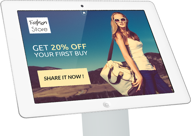 Clothing Store Tablet